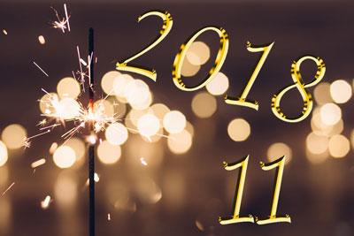 2018 et le Maître Nombre 11